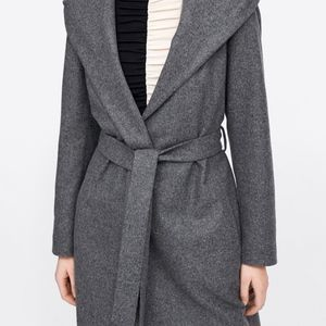 Zara Jackets & Coats - Zara hooded Coat